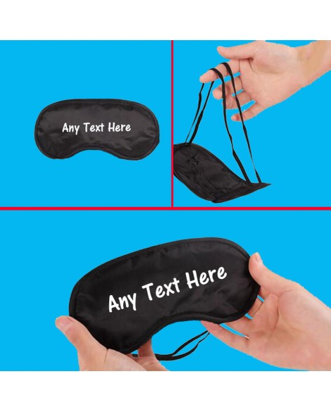 Personalised Unisex Eye Mask / Sleep Mask for Sleeping