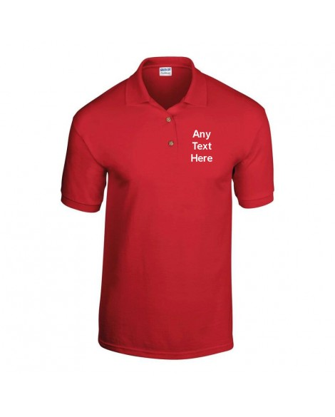 Personalised Polo Shirt for work, leisure or pleasure